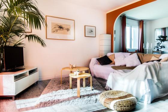 E p design - Salon cosy chaleureux ...