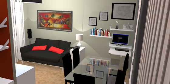 d coration appartement hlm d co sphair. Black Bedroom Furniture Sets. Home Design Ideas