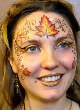 Maquillage de juré de la cour de l'adolescence